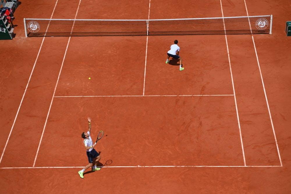 Pierre Hugues Herbert, Nicolas Mahut, Roland-Garros 2021, quarter final.