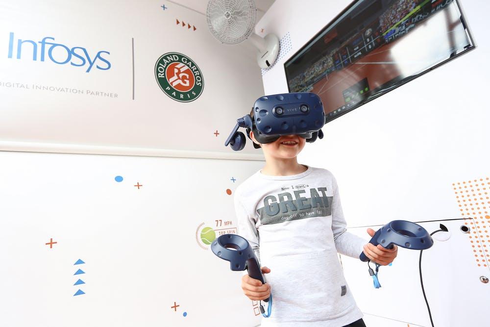 Animation VR, Roland Garros 2019,