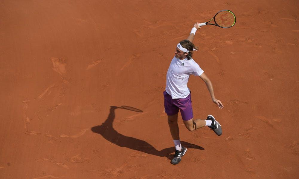 Stefanos Tsitsipas, Roland Garros 2021, second round