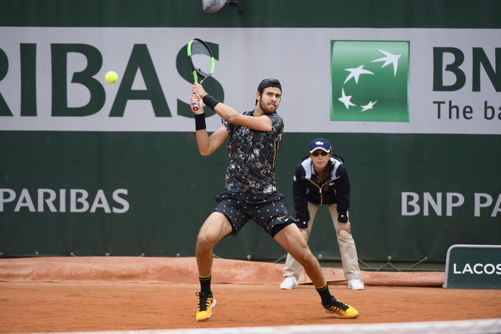 Karen Khachanov Roland Garros 2019 first round