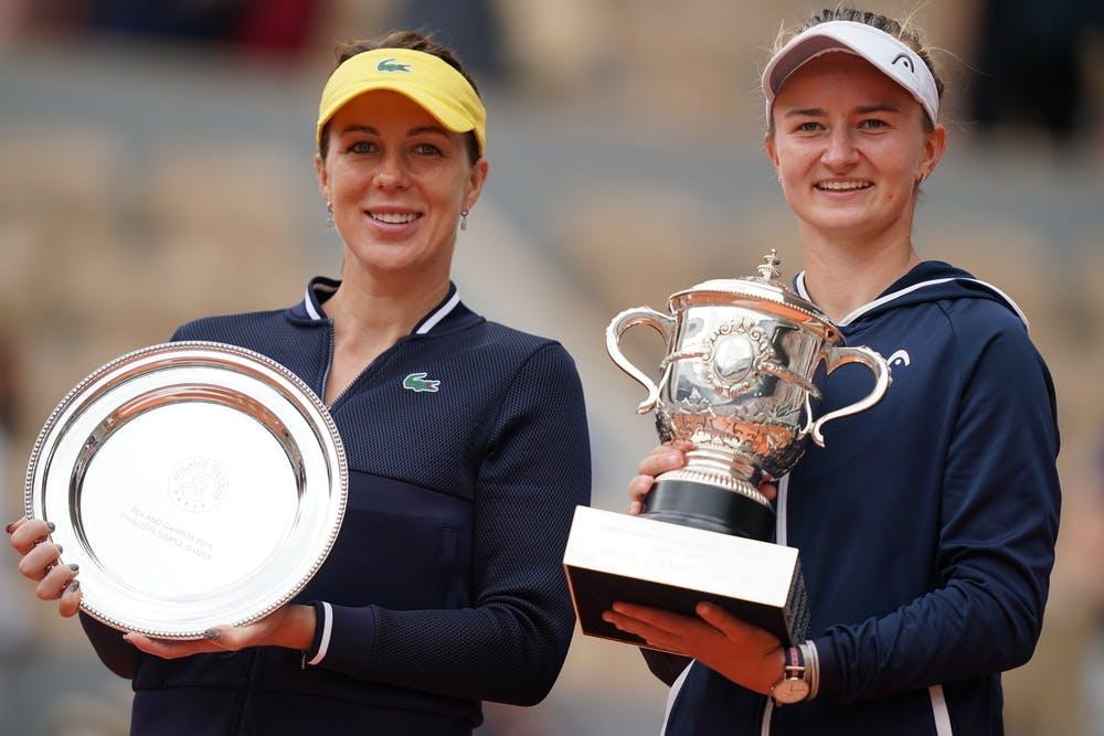 Anastasia Pavlyuchenkova, Barbora Krejcikova, Roland-Garros 2021, final