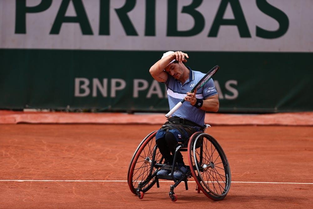 Gustavo Fernandez, Roland-Garros 2021, men's wheelchair singles semi-final