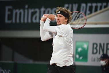Alexander Zverev, Roland Garros 2020, First round