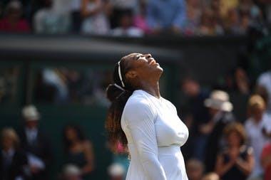 Serena Williams se qualifie pour la finale de Wimbledon 2018.