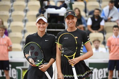 Marketa Vondrousova and Johanna Konta