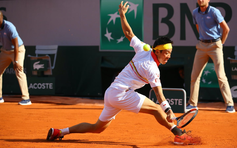 Roland-Garros 2018, Kei Nishikori