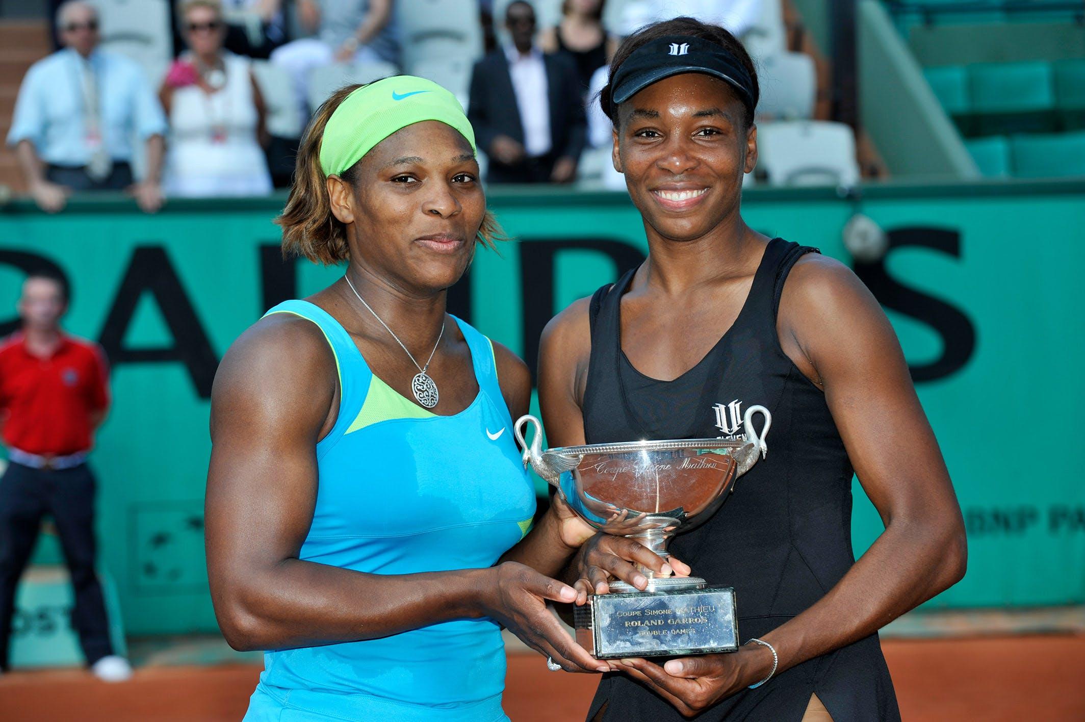 Serena and Venus pair up - Roland-Garros - The 2020 Roland