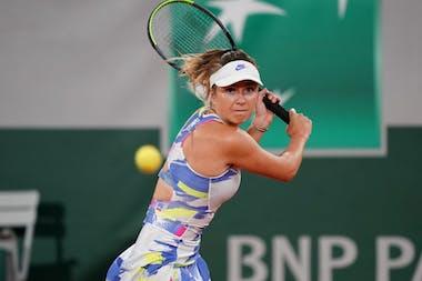 Elina Svitolina, Roland-Garros 2020, 2e tour
