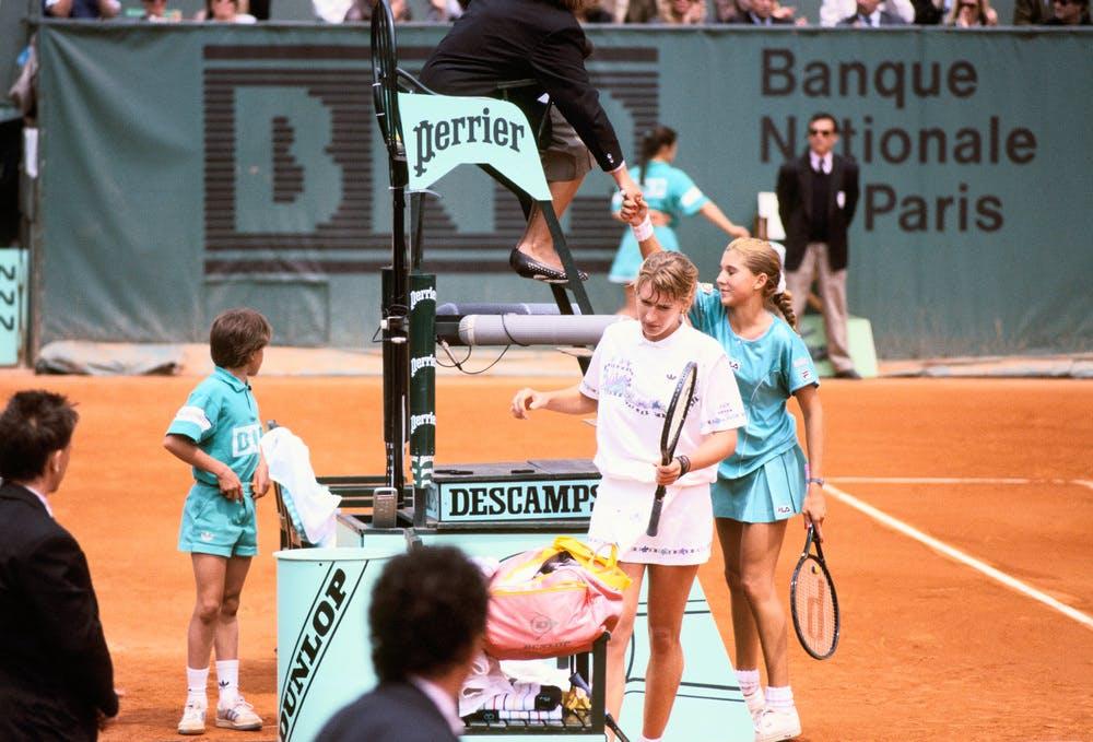 Roland-Garros 1989 - Graf - Seles
