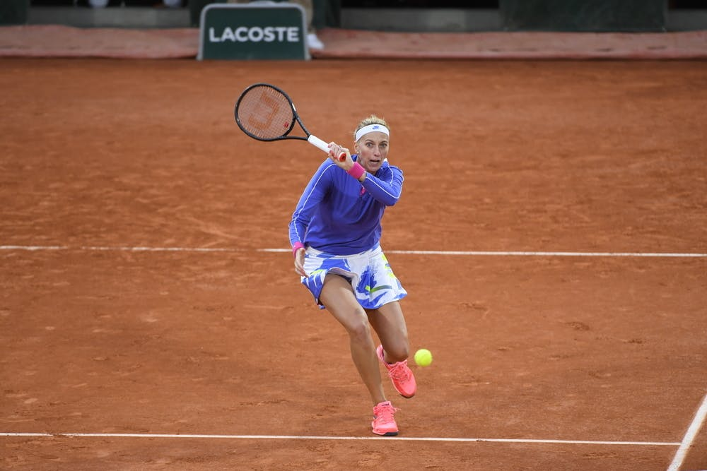 Petra Kvitova, Roland Garros 2020