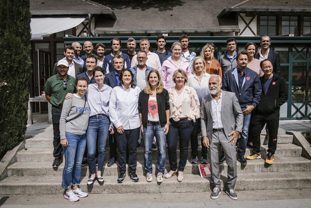 Roland Garros legends trophy 2019