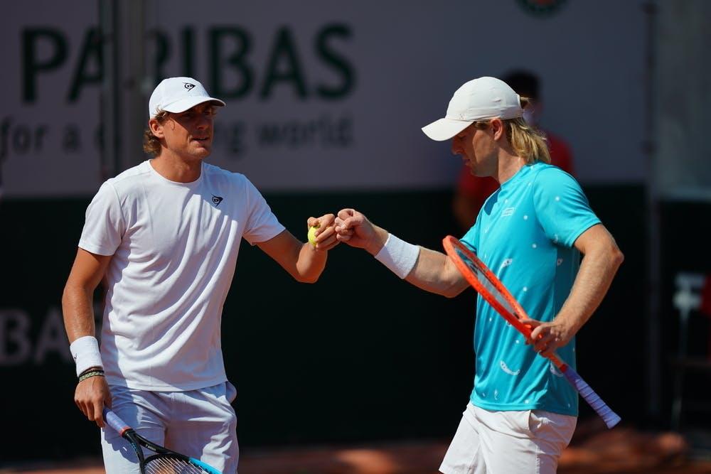 Max Purcell, Luke Saville, Roland-Garros 2021 first round