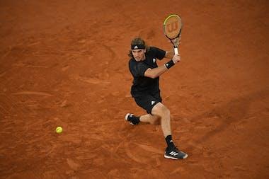 Stefanos Tsitsipas, Roland Garros 2020, fourth round