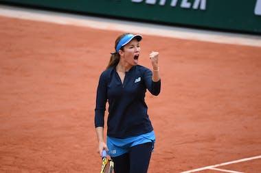Danielle Collins, Roland-Garros, quarts de finale