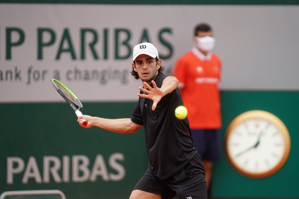 Juan Bautista Torres, Roland Garros 2020, junior semi-finals