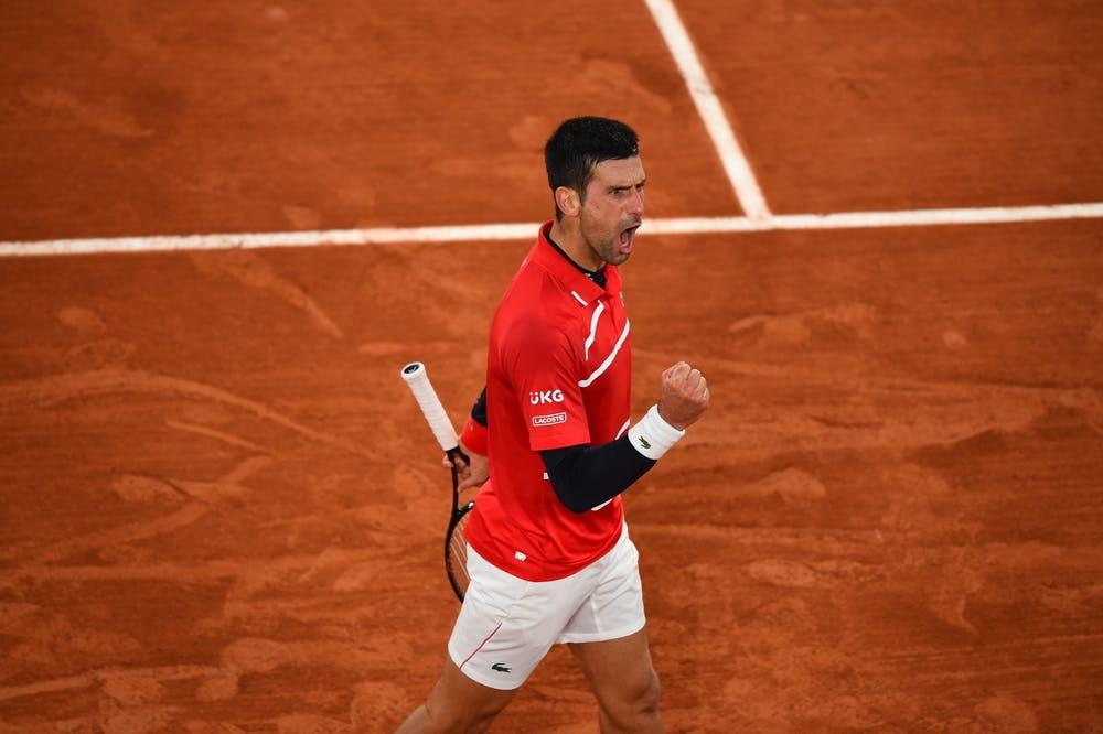 Novak Djokovic, Roland Garros 2020, fourth round