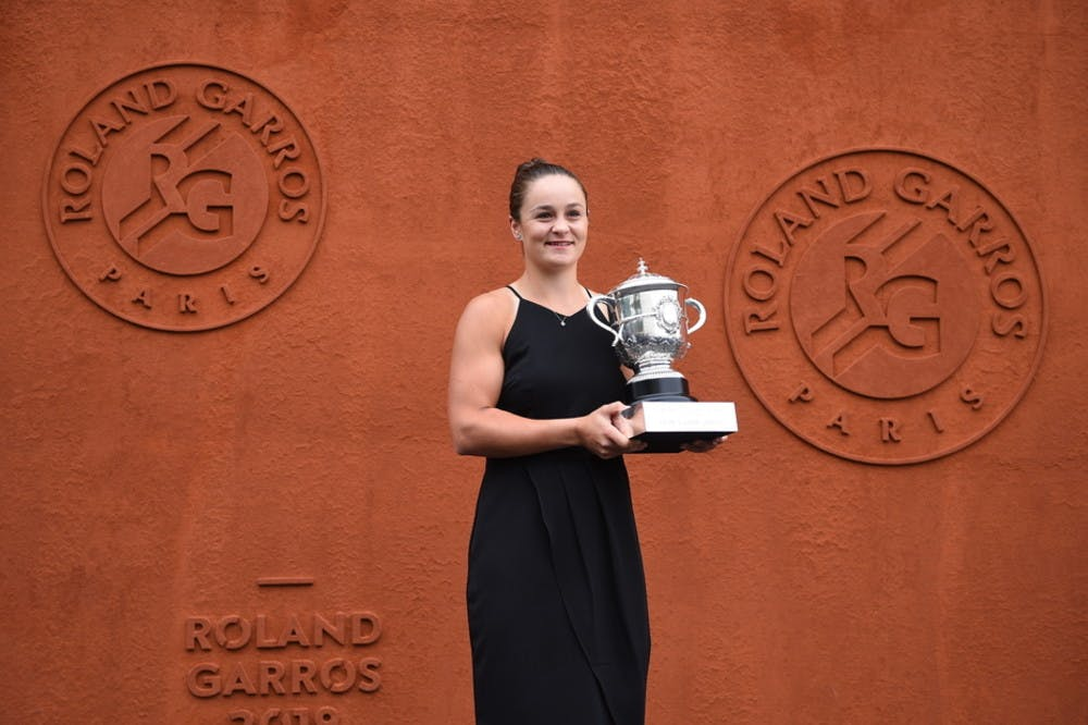 Ashleigh Barty Roland-Garros 2019