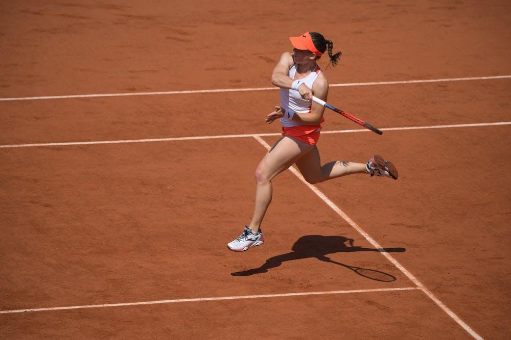 Tamara Zidansek, Roland-Garros 2021, quarter final