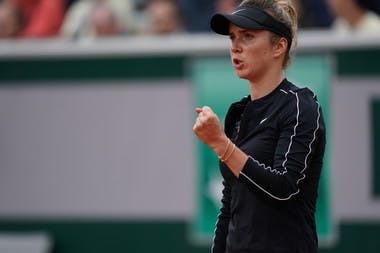 Elina Svitolina second round Roland Garros 2019