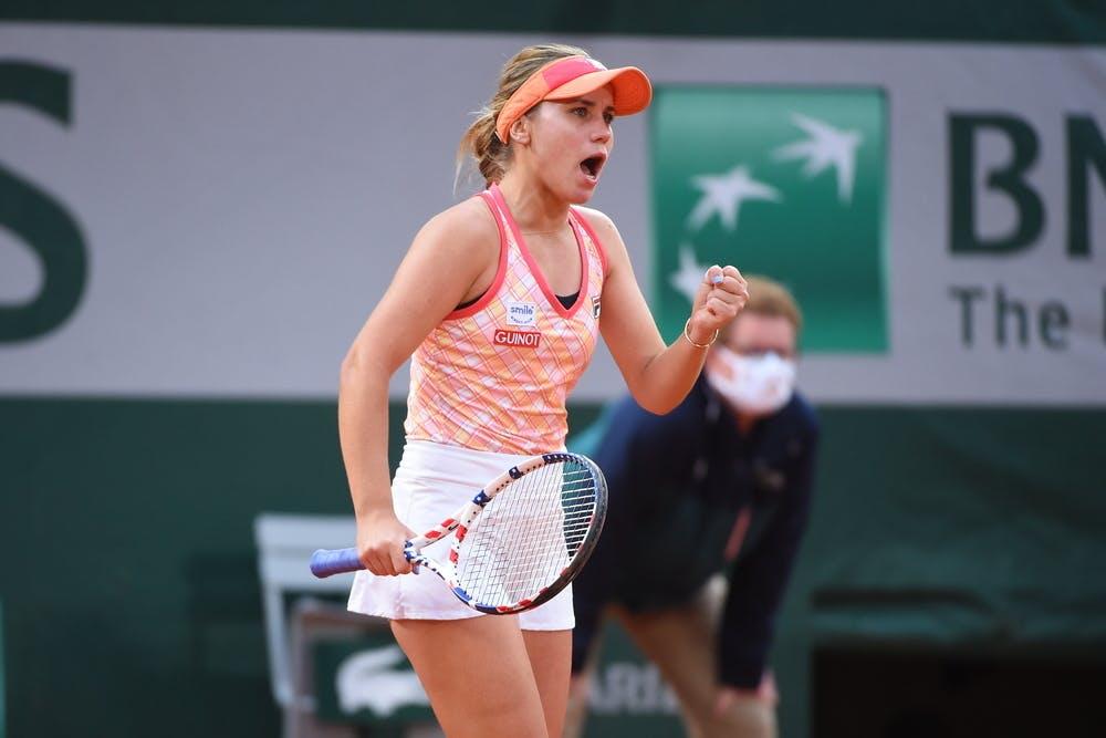 Sofia Kenin, Roland Garros 2020, semi-finals