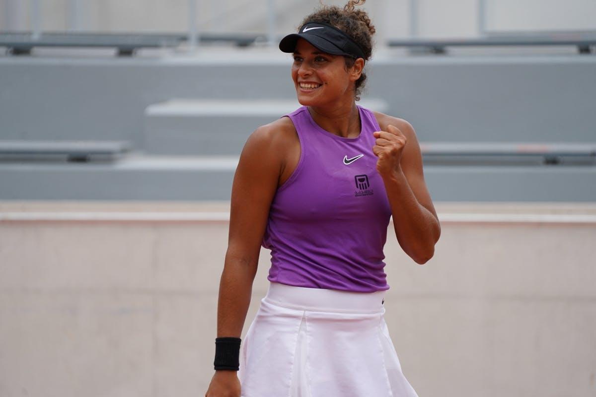 Mayar Sherif, Roland Garros 2020, qualifying first round