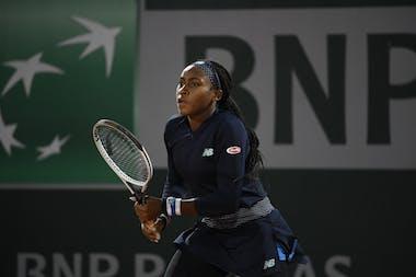 Cori Gauff, Roland-Garros 2020, 1er tour