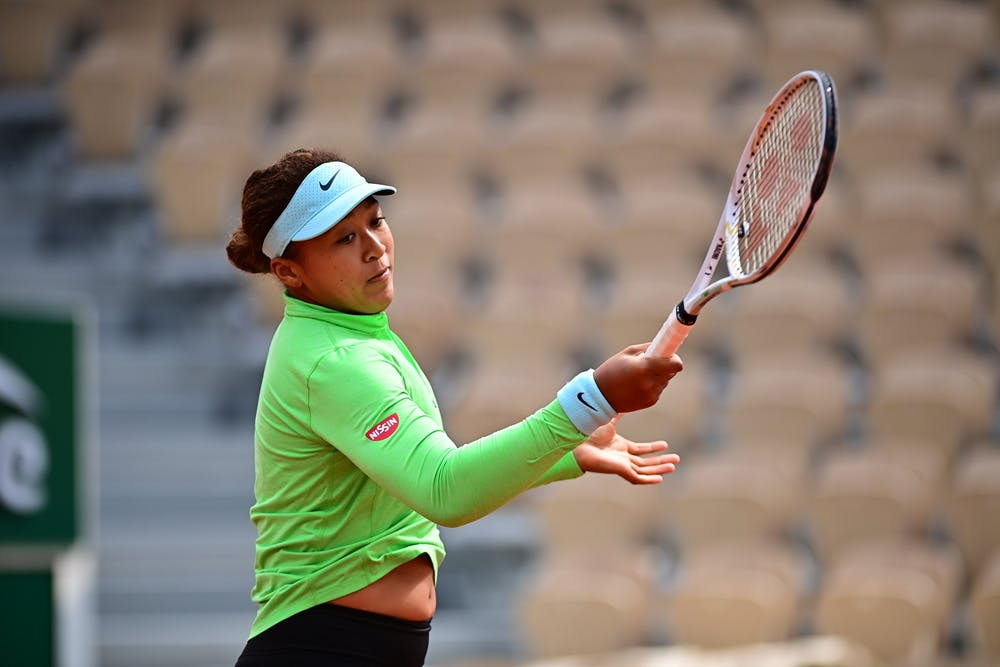 Naomi Osaka, Roland-Garros 2021