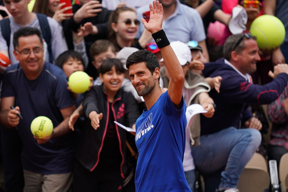 Roland-Garros 2019 - Les Enfants de Roland-Garros - Novak Djokovic