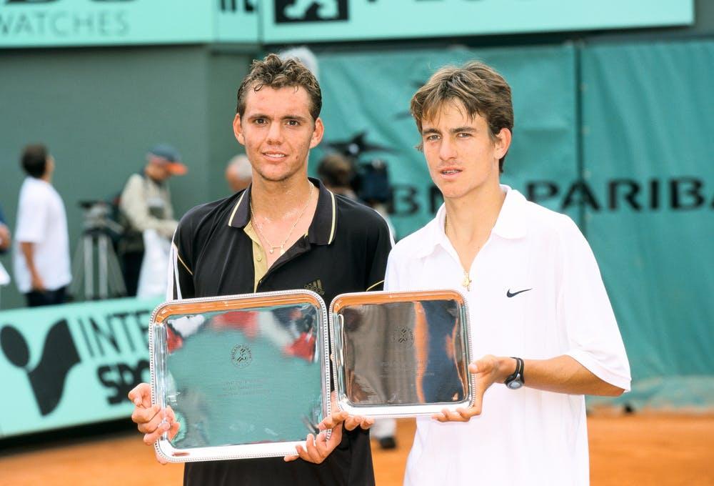Paul-Henri Mathieu Tommy Robredo Roland-Garros juniors 2000