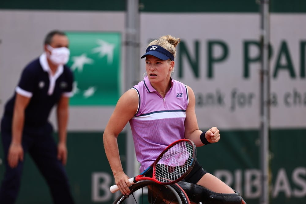 Diede de Groot, Roland-Garros 2021, first round