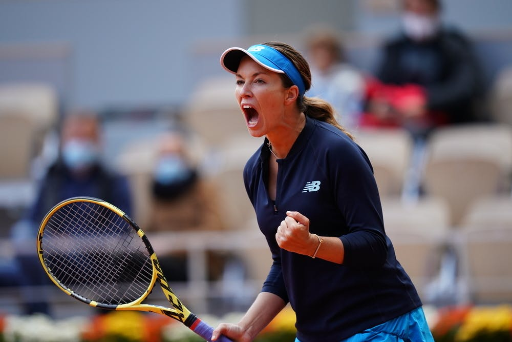 Danielle Collins, Roland Garros 2020, quarter-finals