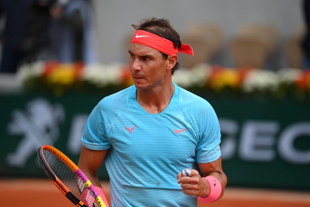 Rafael Nadal, Roland-Garros 2020, demi-finales
