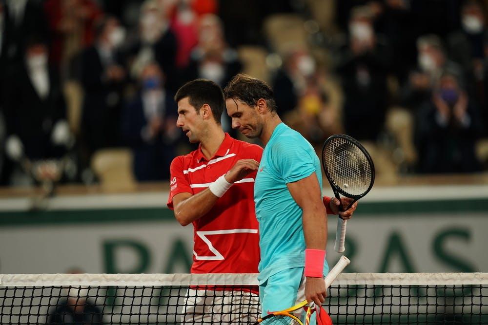 Rafael Nadal, Novak Djokovic, Roland Garros 2020 final