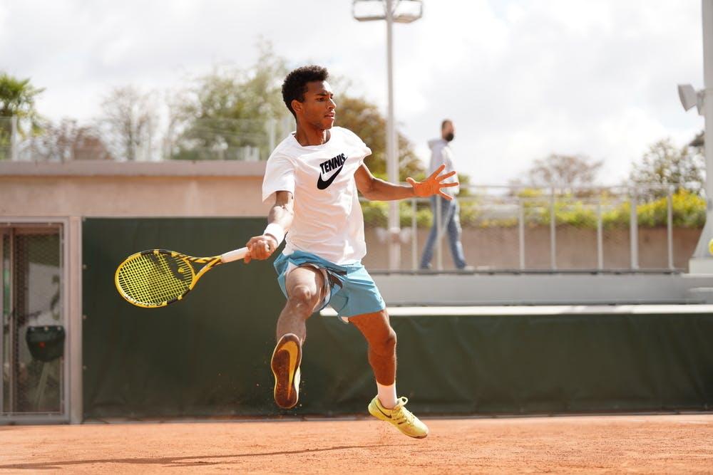 Felix Auger-Aliassime, Roland-Garros 2020