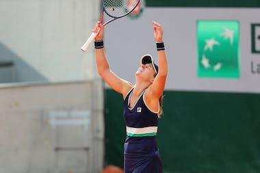 Nadia Podoroska, Roland Garros 2020, qualifying final round