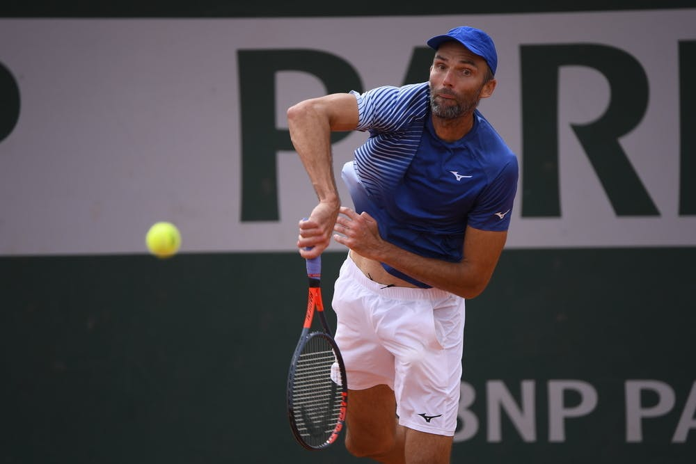 Ivo Karlovic, Roland-Garros 2020, qualifying second round.