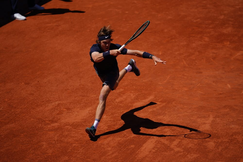 Andrey Rublev, Roland Garros 2021, first round
