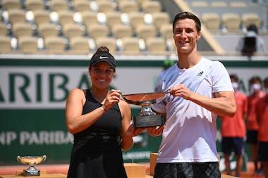 Joe Salisbury et Desirae Krawczyk, Roland-Garros 2021