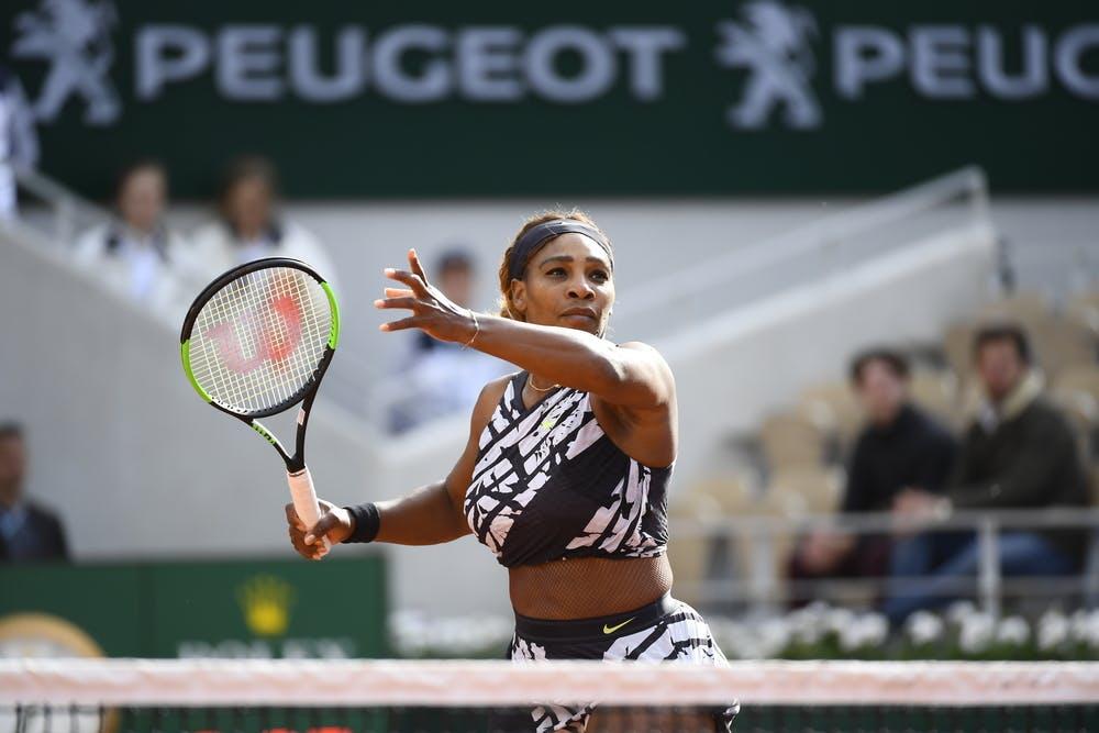 Serena Williams premier tour Roland-Garros 2019