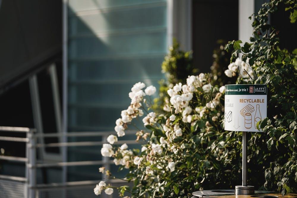 Recycling at Roland-Garros