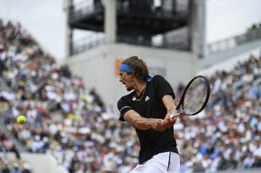 Alexander Zverev - Roland-Garros 2019 - huitièmes de finale