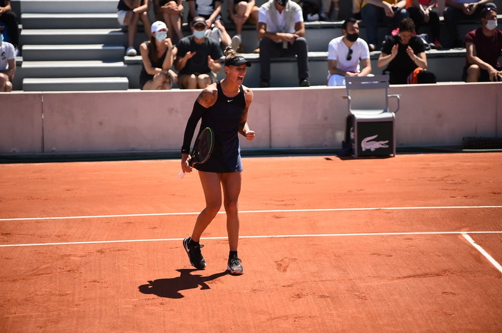 Polona Hercog, Roland-Garros 2021 first round