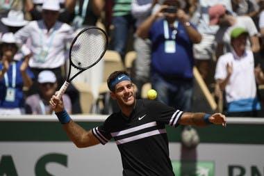 Juan Martin Del Potro Roland-Garros 2018.