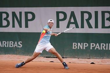 Dominic Stephan Stricker, Roland Garros 2020, juniors quarterfinals