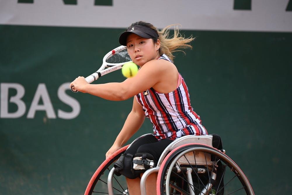 Yui Kamiji, Roland Garros 2020, Women's Wheelchair Singles quarterfinals