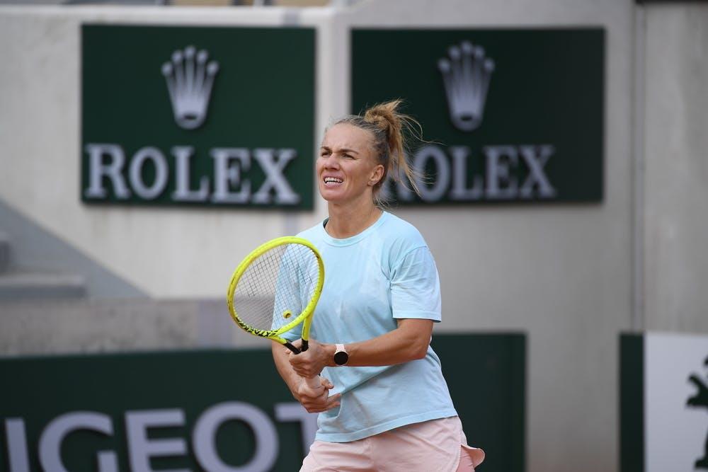 Svetlana Kuznetsova, Roland-Garros 2020, entraînement, qualification