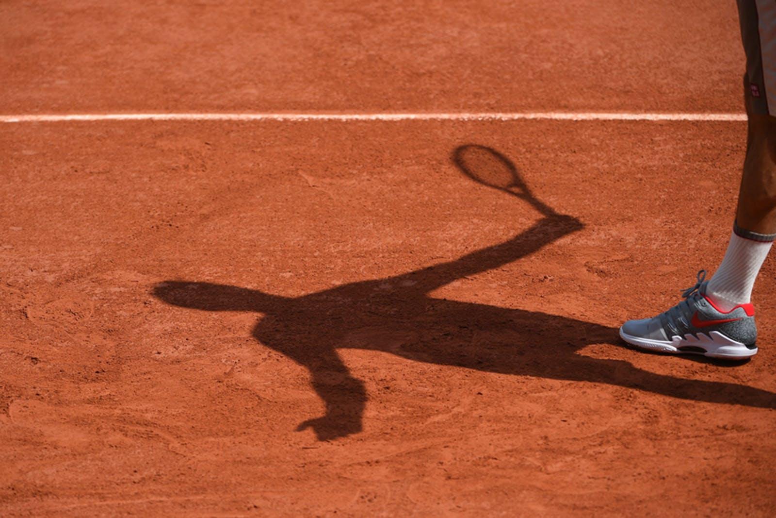 Roger Federer Roland-Garros 2019 - practice