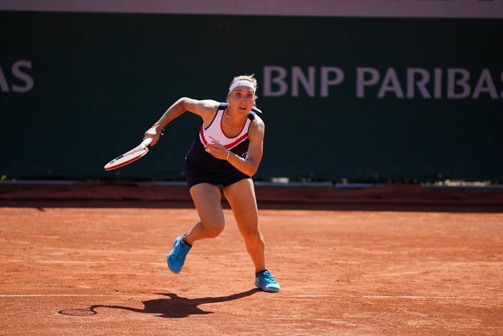 Elena Vesnina, Roland Garros 2021, first round
