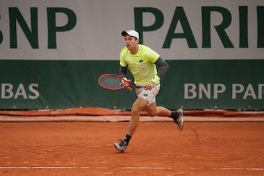 Dominik Koepfer, Roland Garros 2020, first round