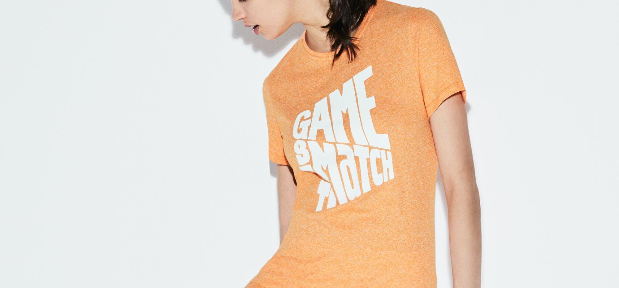 Tee-shirt Lacoste x Roland-Garros